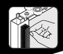 Stofstrip grijs t.b.v. Storemax
