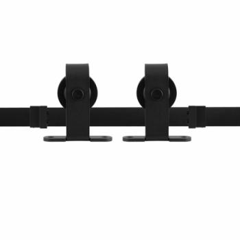 Schuifdeursysteem Klassiek Basic Top Zwart  dubbel