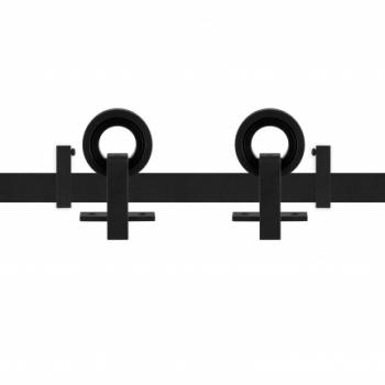 Schuifdeursysteem Modern Top Zwart