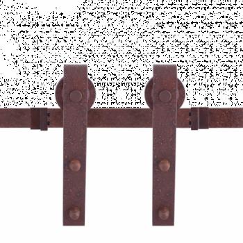 Schuifdeursysteem Klassiek Basic Zroest  dubbel