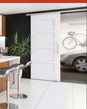 Schuifdeurbeslag Evolve M2, 2 meter enkele deur