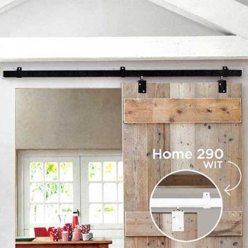 Schuifdeurgarnituur wit 2000 mm, Henderson 290